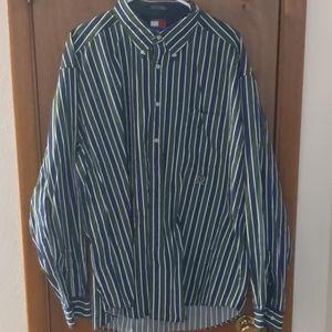 Vintage Men's Tommy Hilfiger Long Sleeve Sz XXL